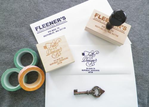 Custom Return Address Stamps For Weddings
