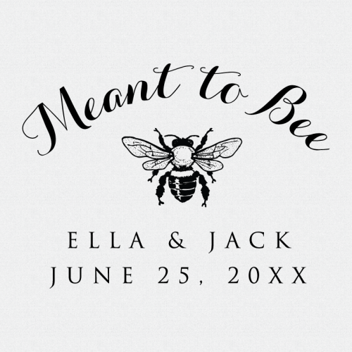 Meant to be honey bee stamp