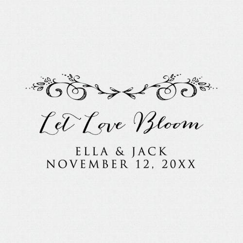 Let Love Bloom Stamp