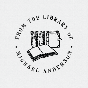 Personalized Book Stamp