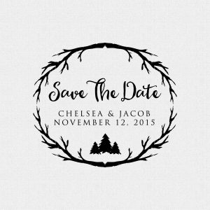 Rustic Outdoor Save The Date Wedding Satmp – Style T269
