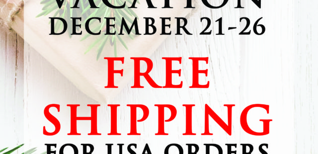 Christmas Vacation Shop Sale!