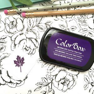 Colorbox Deep Grape Purple Ink Pad