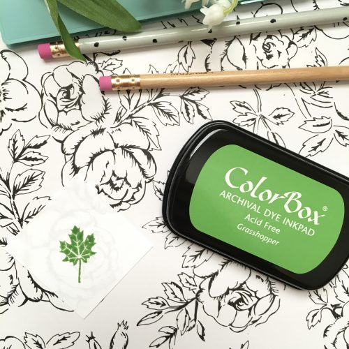 ColorBox Grasshopper Ink Pad in Green