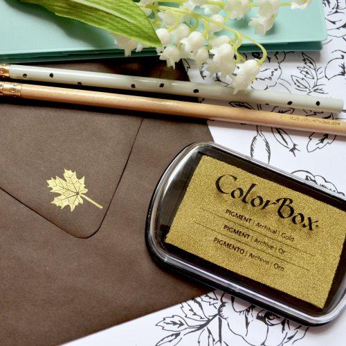 Metallic Gold Ink Pad