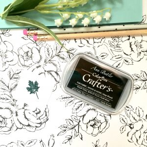 Crafter's Ink Pad in Deep Woods (Forest Green)