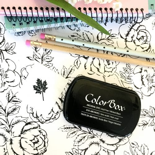 Colorbox Wicked Black Ink Pad