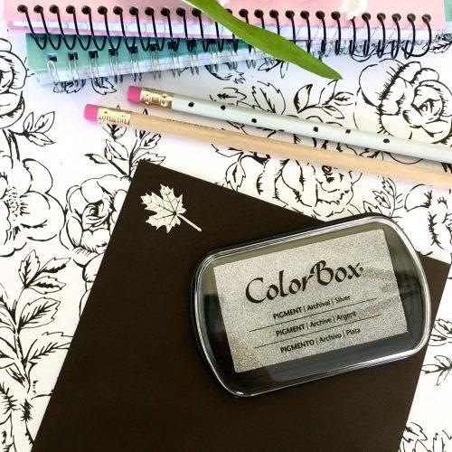 Metallic Silver Ink Pad
