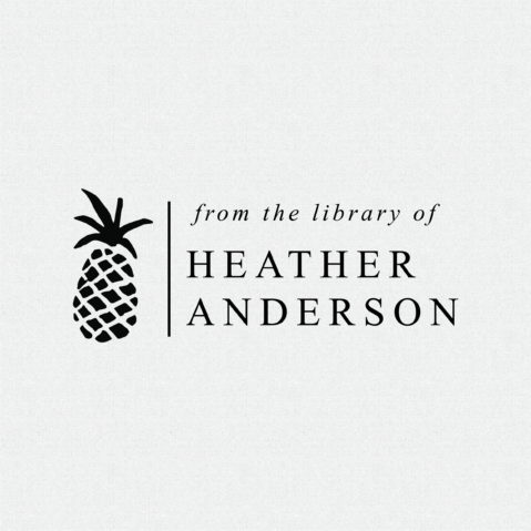 Personalized Pineapple Return Address Stamp – Style T201