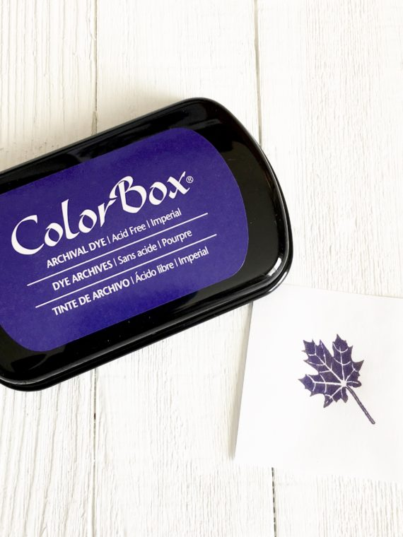 ColorBox Imperial Ink Pad (Purple)