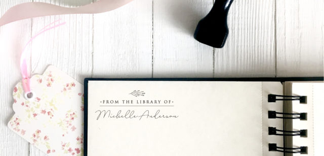 12 New Library Stamps and 2 for Teachers